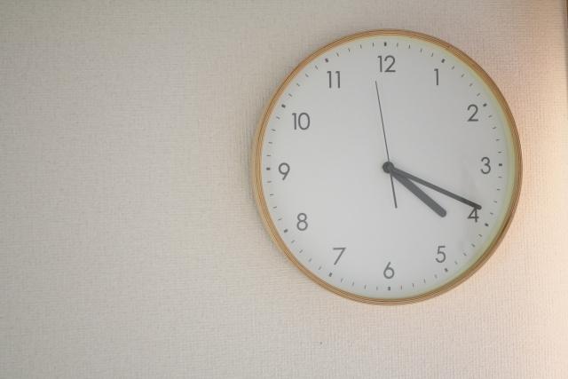 引っ越しと時計